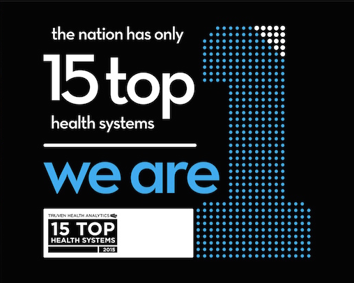 Asante recognized as a 15 top health system by Truven Health Analytics