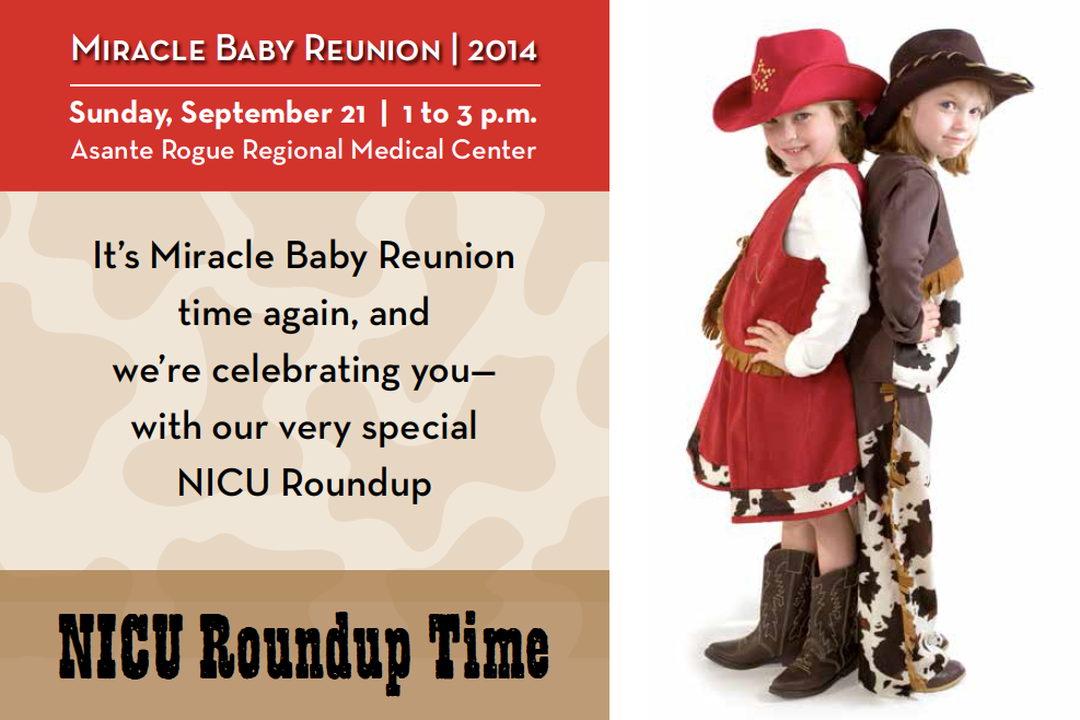 Miracle Baby Reunion - NICU Roundup Time at Asante Rogue Regional Medical Center