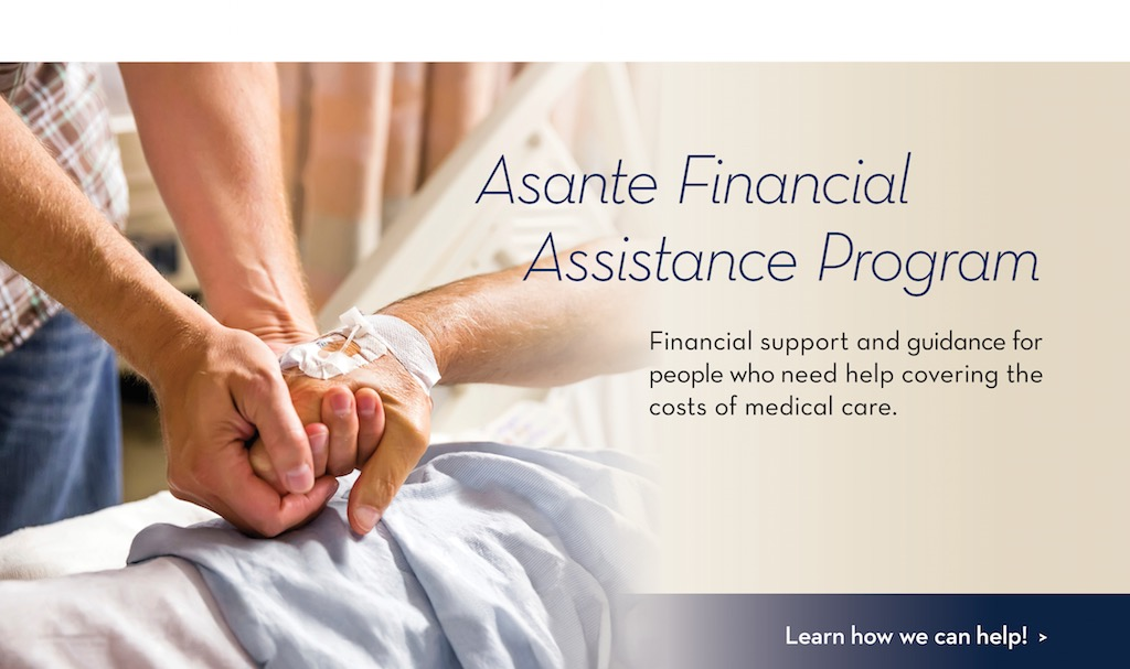 Asante Financial Assistance Program