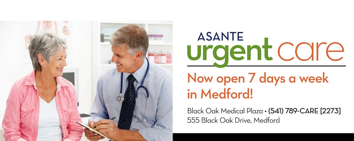 Asante Urgent Care - Black Oak Medical Plaza Medford - (541) 789-2273
