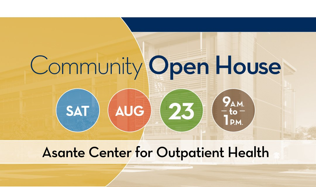 Asante Center for Outpatient Health Grand Opening