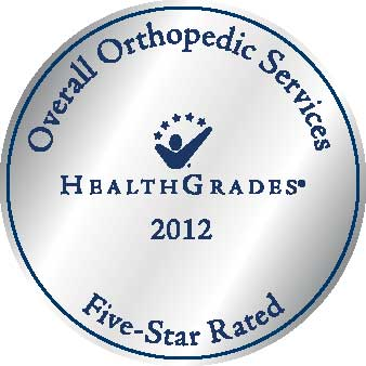 Healthgrades, 2012 Orthopedic Services Five Star Rated, Asante Rogue Regional Medical Center