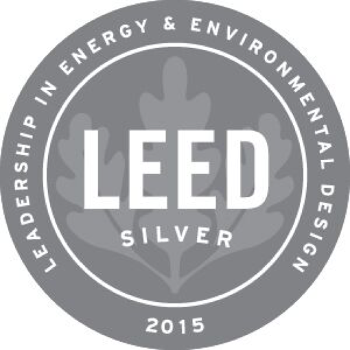 2015 LEED Silver - Leadership in Energy & Environmental Design