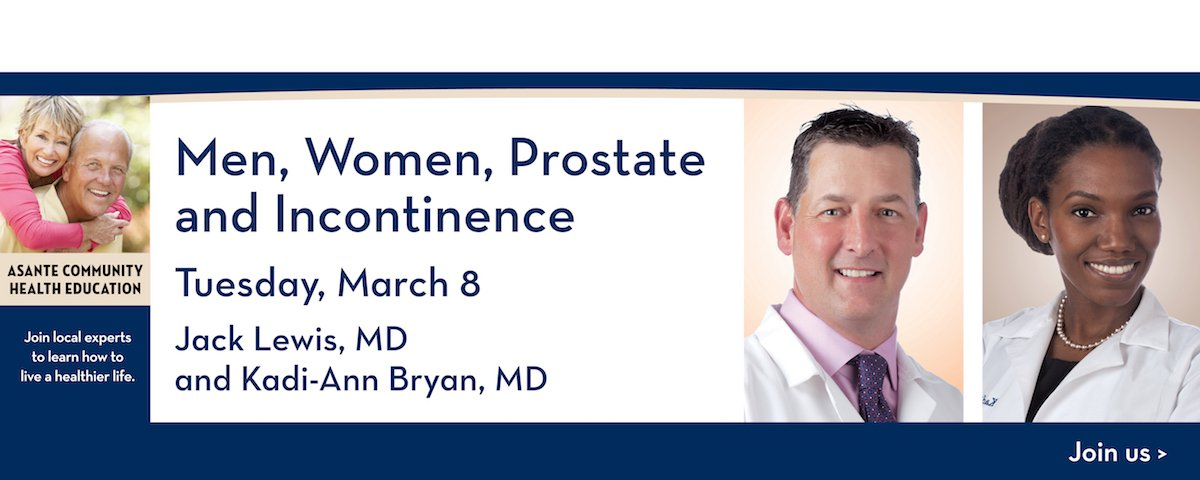 Men, Women, Prostate and Incontinence