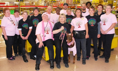 Sherms Food 4 Less Raised over $4000 for Breast Cancer