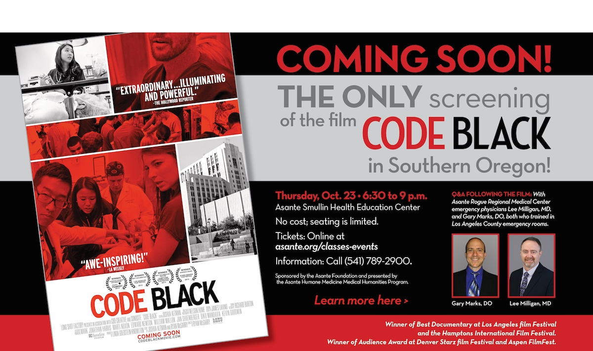 CODE BLACK: A look into America's busiest ER - Film Screening