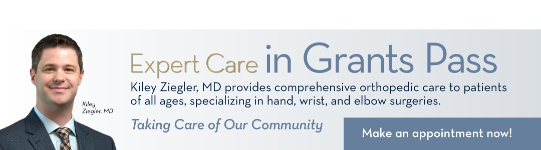 Kiley Ziegler, MD, orthopedic surgeon specializing in hand, wrist and elbow surgeries.
