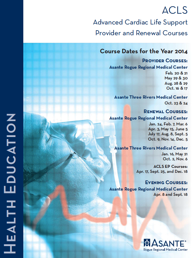 Advanced Cardiac Life Support - 2014
