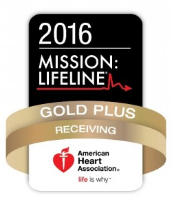 2016 Mission: Lifeline Gold Plus - American Heart Association