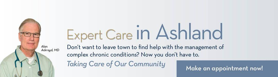 Alan Ackroyd, MD - Expert Care in Ashland. Call 541-201-4800