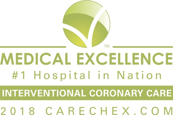 Interventional Coronary Care - #1 Hospital in Nation