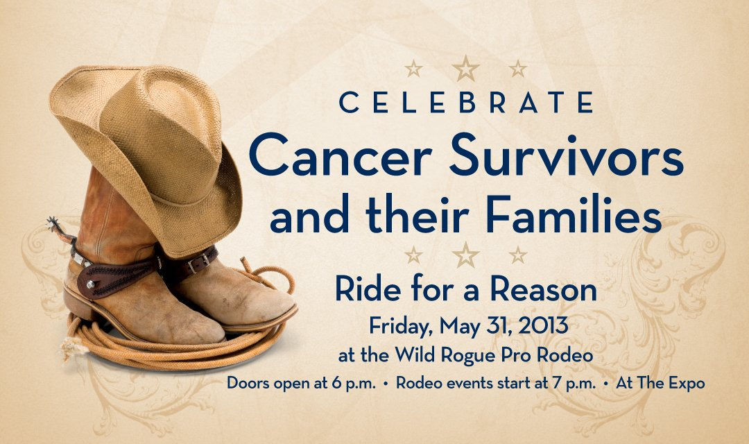 Cancer Survivors Day, 2013 - Wild Rogue Pro Rodeo