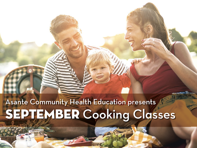 September Cooking Classes - Healthy Snacks
