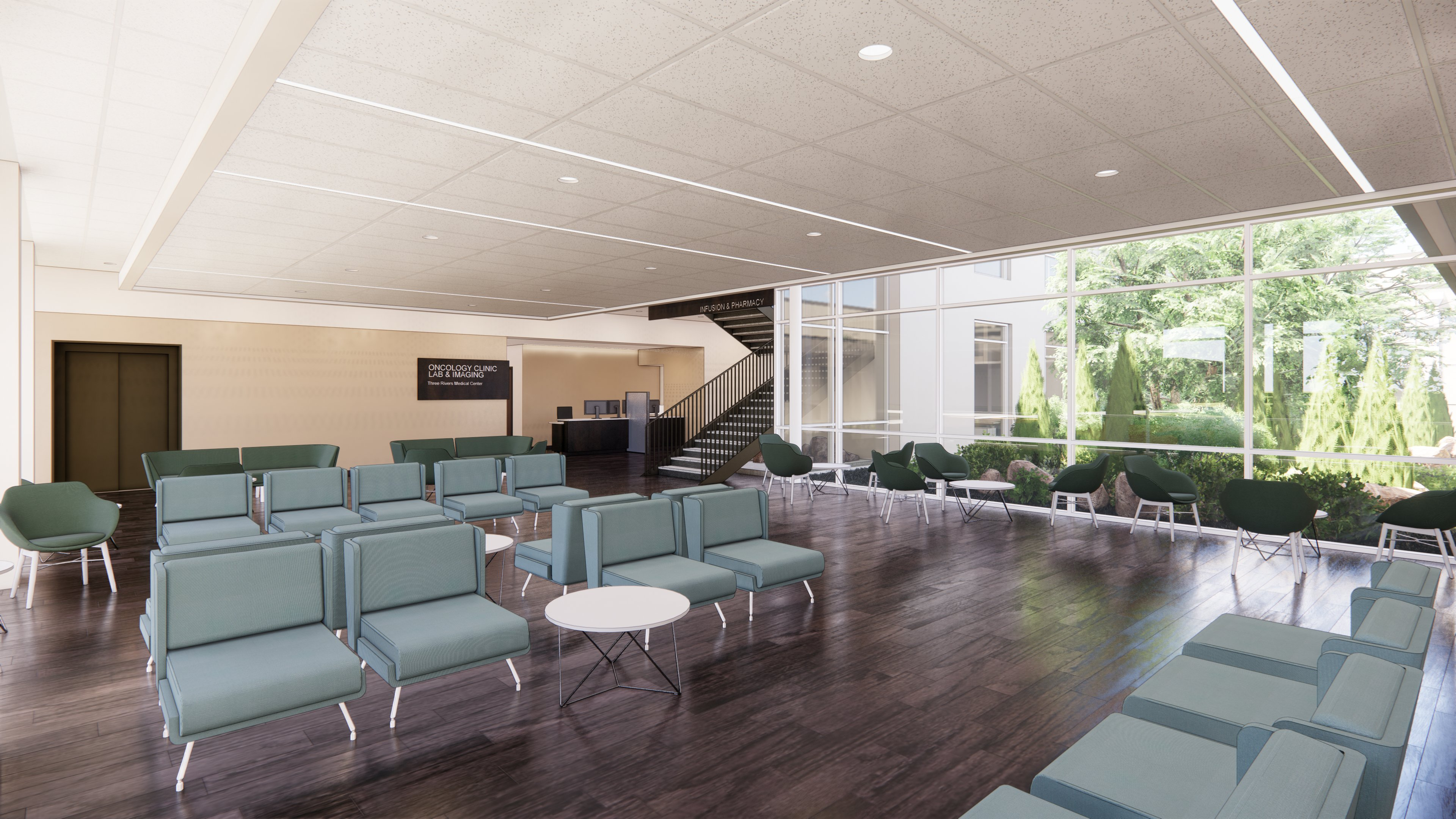 Spears Cancer Center rendering ATRMC