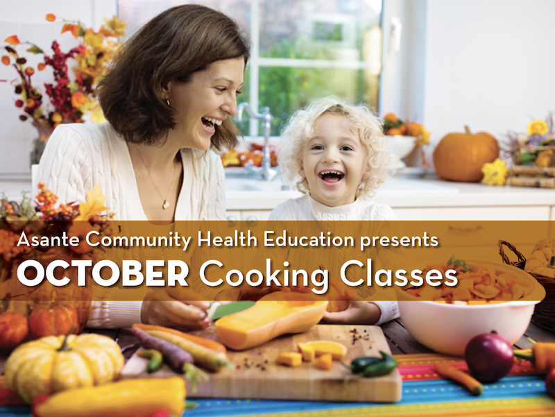 October Cooking Classes - Fall Flavors