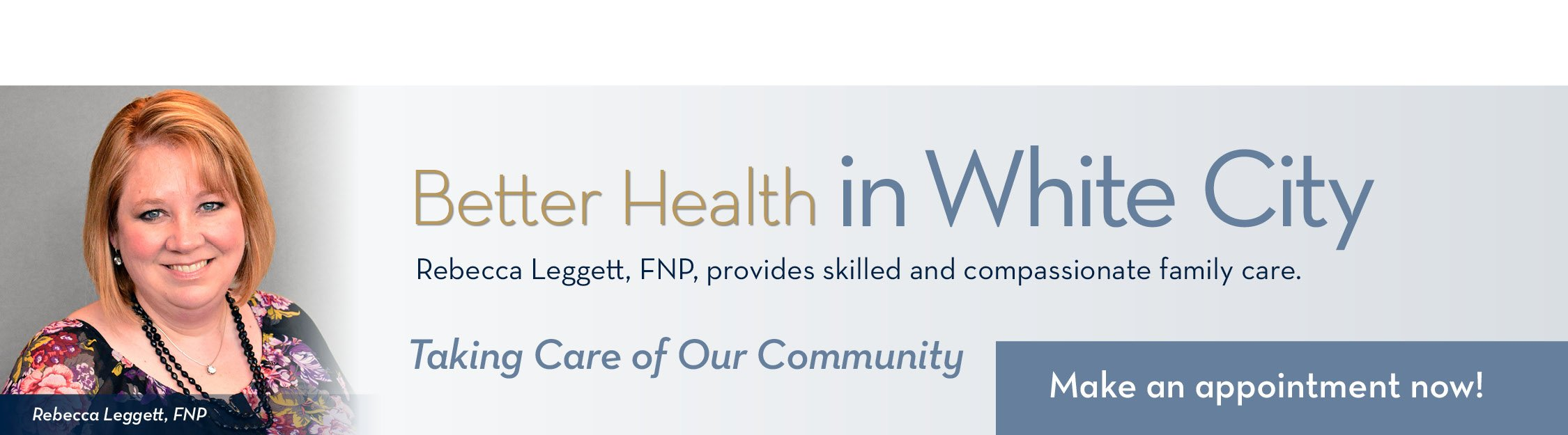 Rebecca Leggett, FNP - family care in White City, OR