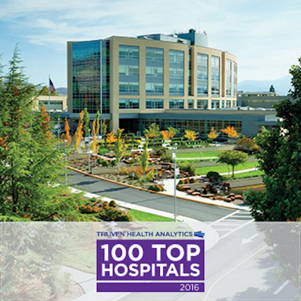 Asante Rogue Regional Medical Center Named One of the Nation's 100 Top Hospitals for 2016
