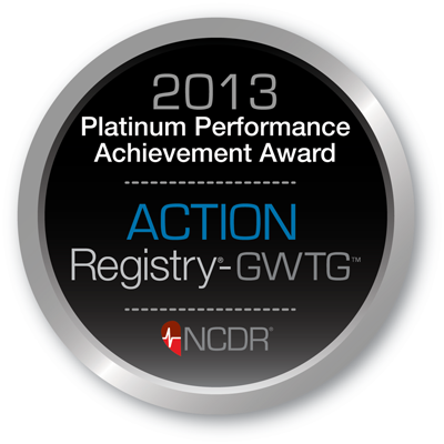 2013 Get With The Guidelines Platinum Achievement Award