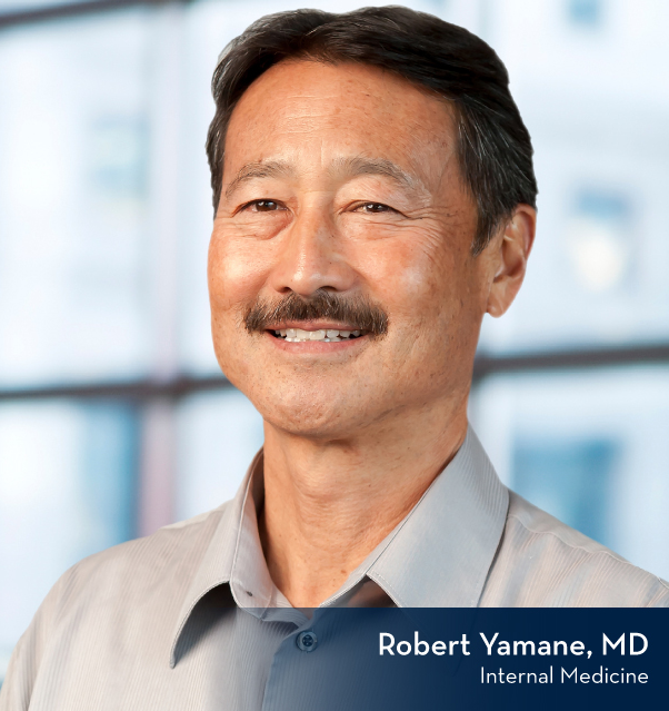 Robert Yamane, MD - internal medicine Ashland, OR