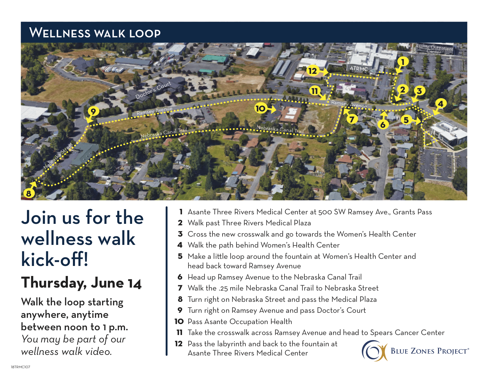 Wellness Walk Loop - Blue Zones Project Grants Pass
