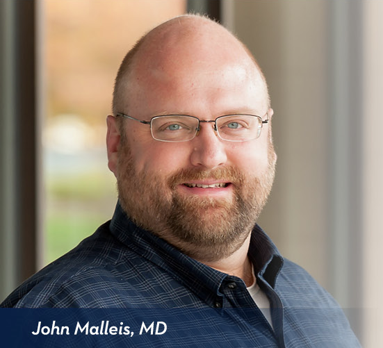 John Malleis, MD - Internal Medicine and Pediatrics in Medford
