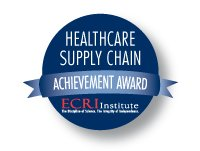 ECRI Healthcare Supply Chain Award Logo