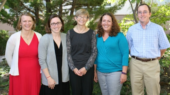 Pediatric Hospitalists (pictured L-R): Lora Bergert, MD; Erin Turner, MD; Laurel Bell, MD; Anna Antonopulos, DO; Daniel McAllister, MD
