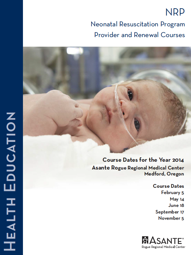 Asante 2014 Neonatal Resuscitation Program (NRP), Provider and Renewal Courses