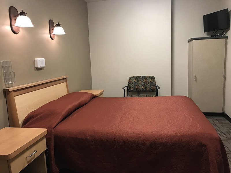 Patient Sleep Study Room