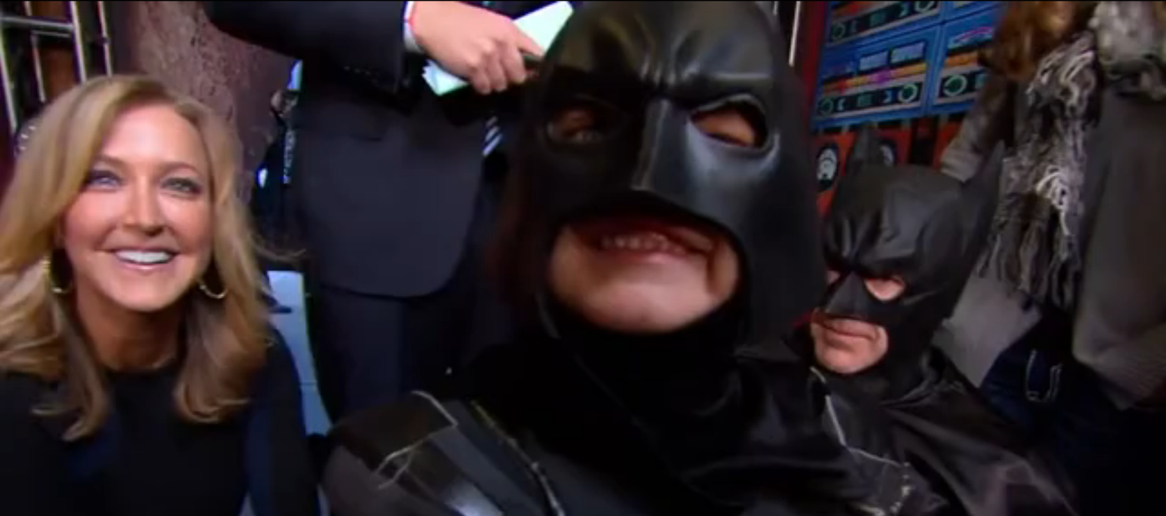 Batkid on Good Morning America