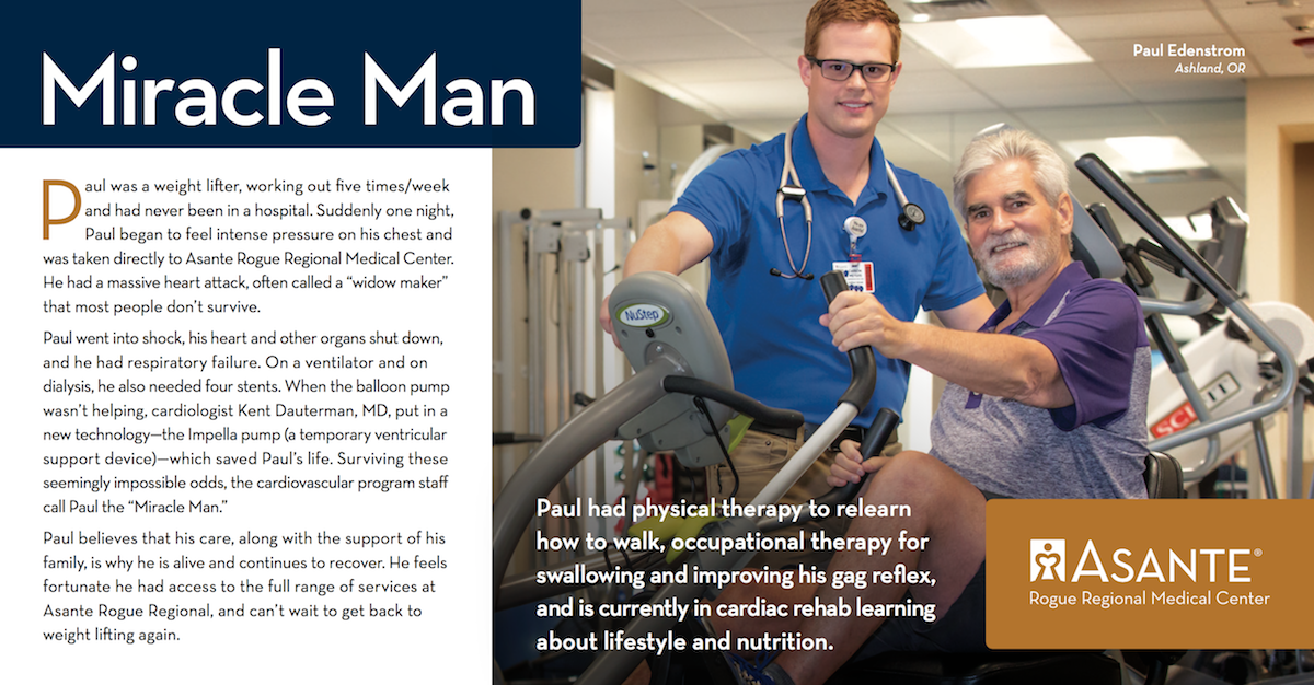 Miracle Man - Paul Edenstrom - Asante Heart and Vascular