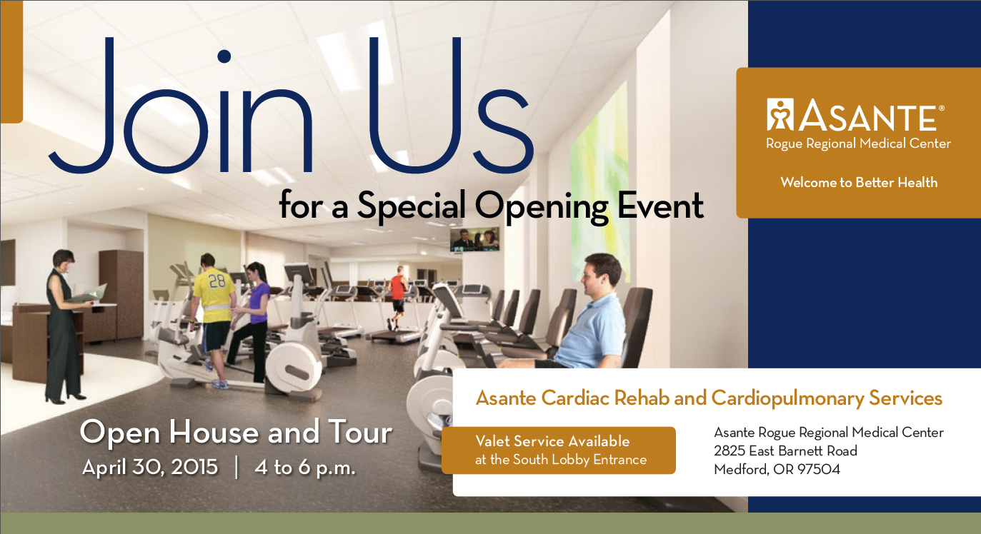 Open and Tour, Asante Cardiac Rehab and Cardiopulmonary Services