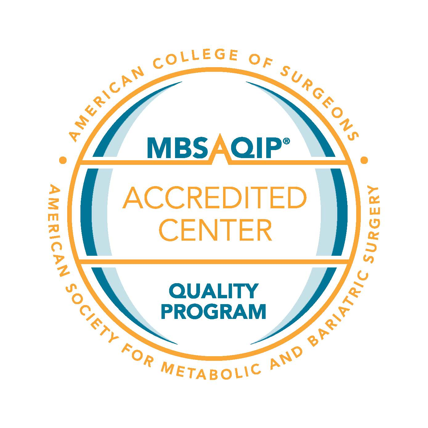 Metabolic and Bariatric Surgery Accreditation and Quality Improvement Program Accredited Center (MBSQIP)