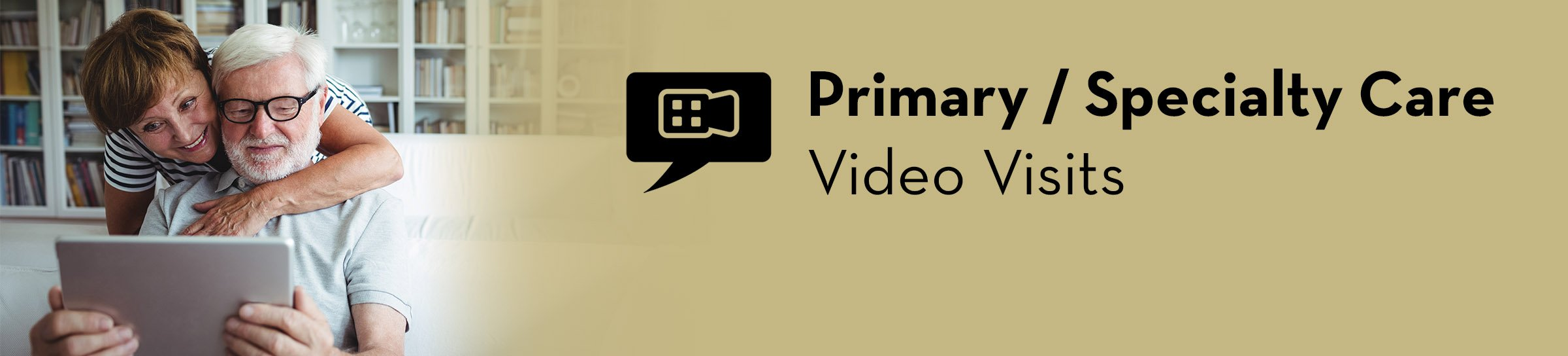 Primary and specialty care video visits