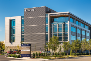 Urgent Care - located on the first floor of the Asante Center for Outpatient Health